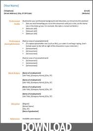 Microsoft Office Resume Classy Microsoft Office Resume Templates Complete Guide Example