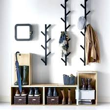 Coat Rack Contemporary Gorgeous Modern Wall Hooks For Coats Coat Racks Modern Wall Coat Rack