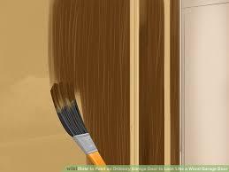 image titled paint an ordinary garage door to look like a wood garage door step 7