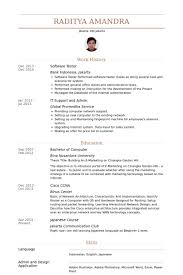 Software Tester Resume Samples Visualcv Resume Samples Database