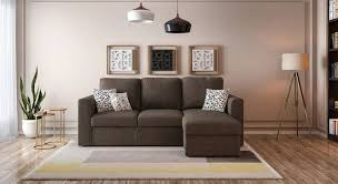 sectional sofa bed with storage. Kowloon Sectional Sofa Cum Bed With Storage (Sand Brown) By Urban Ladder