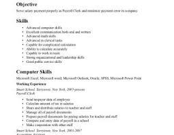 Walgreens Service Clerke Resume Mini Bar Attendant Examples