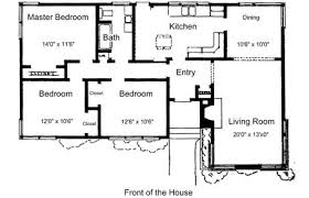 small house plans free. Unique Free Plans For 3 Bedroom 1 Bathroom House Small Free