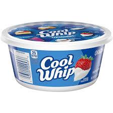 Cool Whip Original Whipped Topping, 8 oz Tub - Walmart.com