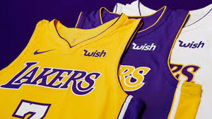 Here are all of the nba city edition jersey leaks and reveals so far. Lakers To Get More Than 30 Million From Three Year Jersey Sponsorship Deal With Wish Los Angeles Times