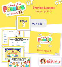 Thousands of free teaching resources to download. Phase 3 Phonics Mrs Mactivity