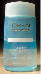 l oreal lip and eye makeup remover review image