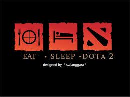 eat sleep dota 2 free vector in adobe illustrator ai ai