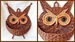 Плетение шкатулки совы 126