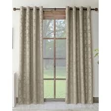 allen roth drenham 84 in taupe polyester grommet room darkening and curtain rods remodel 18
