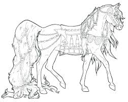 Race Horse Coloring Pages Printable Horses Coloring Pages Horse