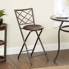 diamond x back folding 24 counter stool bronze multiple colors com