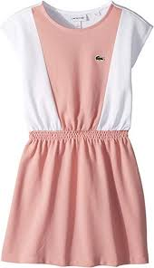 Lacoste Dress Size Chart Amazon Com Lacoste Kids Womens Sleeveless Petit Pique