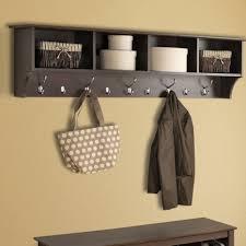 Mini Coat Rack Bench Entryway Storage Bench With Coat Rack Wood Stabbedinback 69