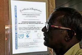 Iso Certification Displayed Atcoimbatore Railway Station The Hindu