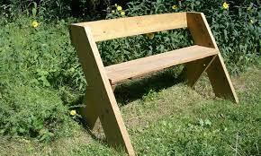 homemade garden bench plans you can diy