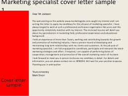 Web specialist cover letter