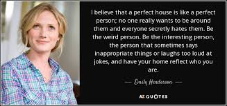 TOP 10 QUOTES BY EMILY HENDERSON | A-Z Quotes