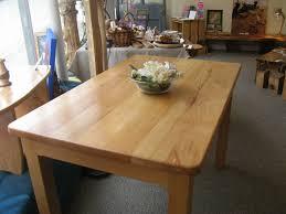 beechwood dining table 122x75cm now 585