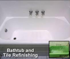 bathtub refinishing bathtub repairs