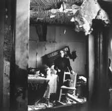 battle of the bulge rare photos from hitler s last gamble  a belgian w surveys damage to her home caused by heavy fighting in the nearby ardennes