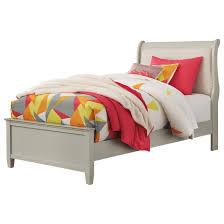Upholstered sleigh bed frame Suede Full Sleigh Bed Becker Furniture World Signature Design By Ashley Jorstad Traditional Full Upholstered
