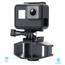 <b>Vlog Bracket Adapter with</b> 1/4inch Screw Cold Shoe Mount Holder ...