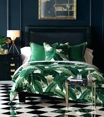 tree bedding sets palm tropical king quilt lanai duvet cover