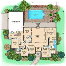 4 bedrooms 3 full baths 1 half baths 80 2 depth plan 63 410 floor plan