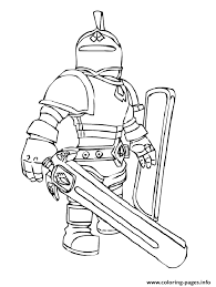 Small Picture roblox knight Coloring pages Printable
