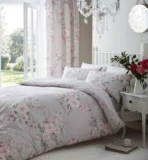 catherine lansfield canterbury bedding set grey zoom