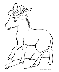 Small Picture Printable Coloring Pages Of Horses Coloring Home