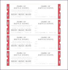 Microsoft Word Ticket Templates Free Event Ticket Template