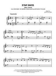 Easy piano notes from star wars for beginners! Star Wars Main Theme Piano Sheet Music Pdf Bluebird Music Lessons
