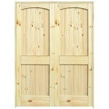 36 interior door 2 panel arch top knotty pine interior double door unit 36 inch frosted glass interior door