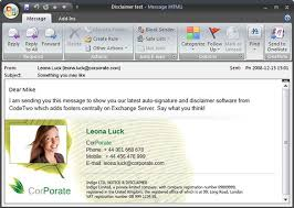 11 Outlook Email Signature Templates Samples Examples Formats