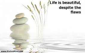 Life Is Beautiful Quotes Interesting Life Is Beautiful Despite The Flaws StatusMind