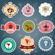 Vintage Food Labels Set Of Vintage Food Labels Royalty Free Cliparts Vectors And Stock