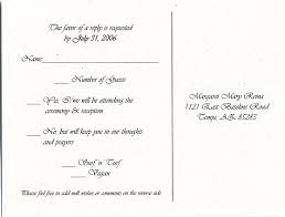 response cards template wedding response cards with menu choices wedding rsvp menu choice
