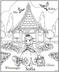 Small Picture Get This Printable Sofia the First Coloring Pages Online 46801