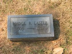 Mrs Madge Wood Rodgers Easter (1904-1989) - Find A Grave Memorial