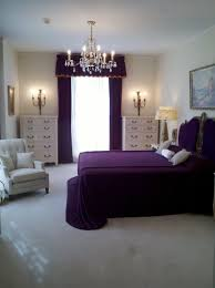romantic bedroom purple. Bedroom, Romantic Purple Bedroom Decoration Matched With Comfy White Accent Chair For And Sparkling S