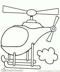 Kleurplaten Helicopter Kleurplaten Kleurplaatnl