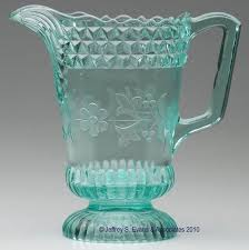 Decorative Water Pitchers WILDFLOWER WATER PITCHER Apple Green 60 6060 H Overall 60 Dia 13
