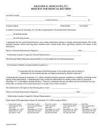 Medical Records Request Forms FormsRequestforMedicalRecordsjpg 9