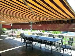 cost of awning installed how much do retractable awnings cost cost of patio awning motorized retractable