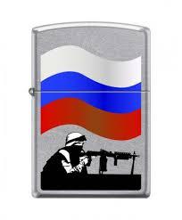 <b>Zippo 207 Russian Soldier</b> - <b>зажигалка</b>