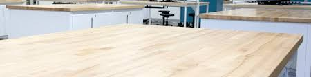 kiln dried solid hardwood tops add a warm natural element to many environments they are durable as well as spot and stain resistant