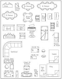 floor plan furniture symbols bedroom. Free Printable Furniture Templates | Template Decorations Pinterest Printable, Miniature Dollhouse And Floor Plan Symbols Bedroom O