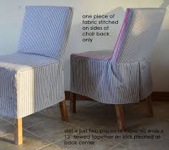 i didn t want to spend a ton of time making a slipcover just something quick and easy to refresh the chairs